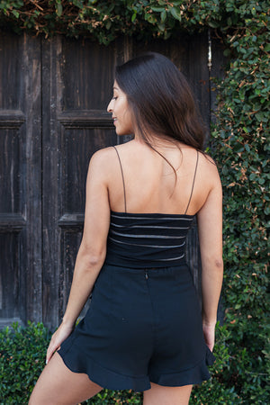 Black Kala Tank Top