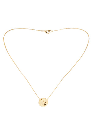 Hawaiian Island Chain Necklace-Gold