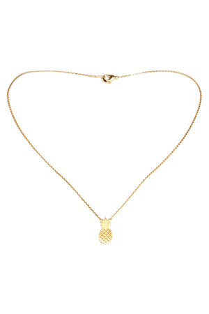 Pineapple Necklace-Gold