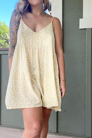 Morning Glory Romper