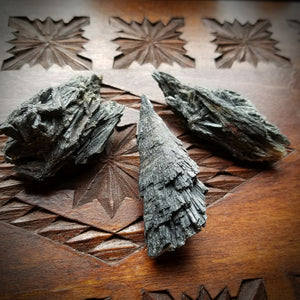 Black Kyanite - Sweeping Away Negativity, Increasing Clairvoyance