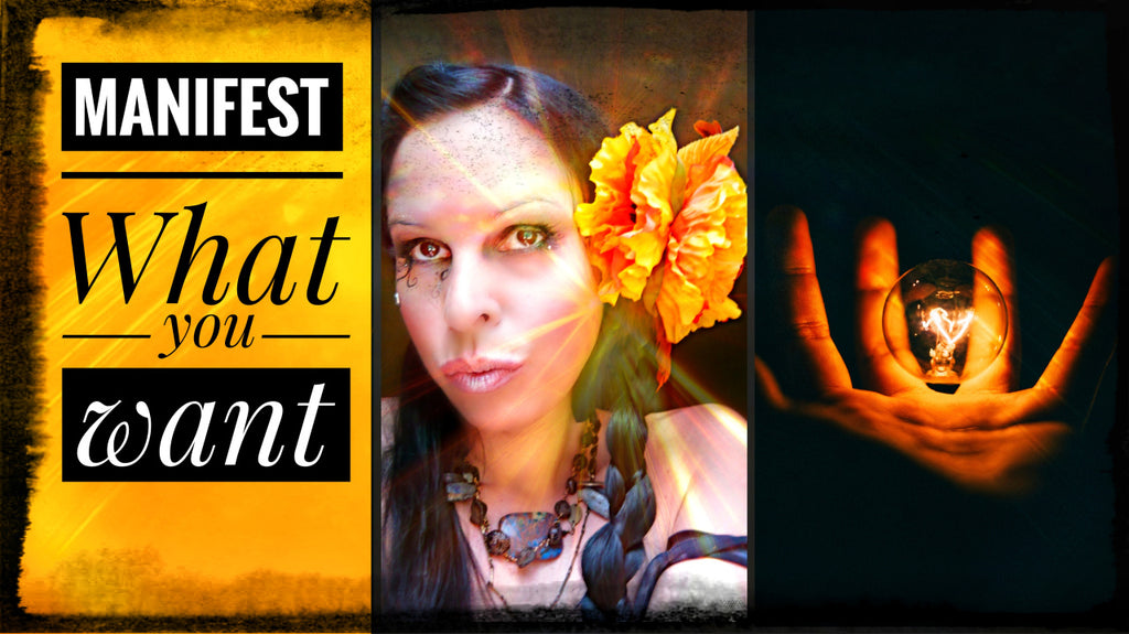 Manifest What You Want, Plus a Powerful DIY Tool at the End of the Video!