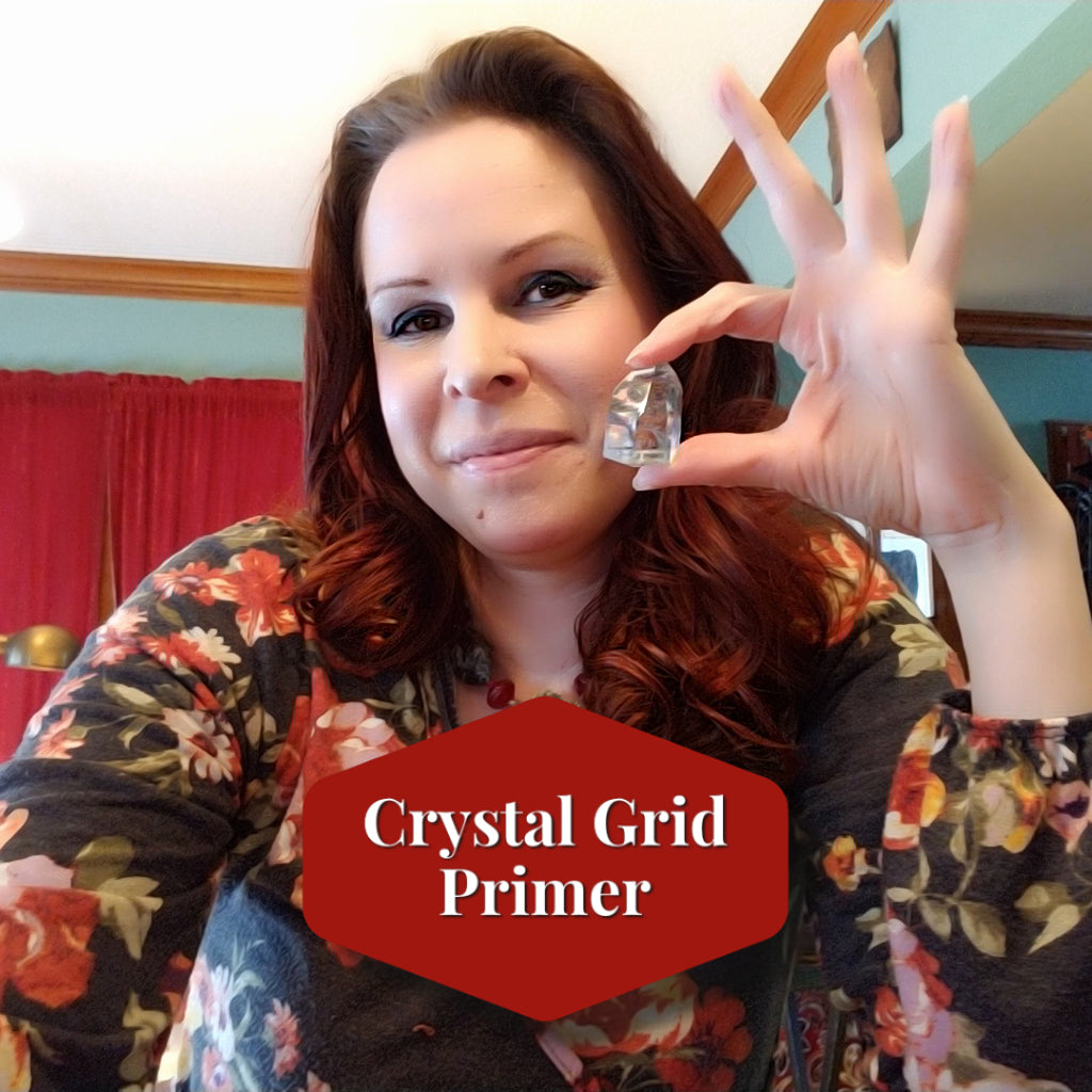 Crystal Grid Primer - Explore Creating a Simple Grid to Focus Your Intention
