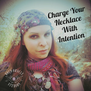 How To Charge Your Necklace With Intention