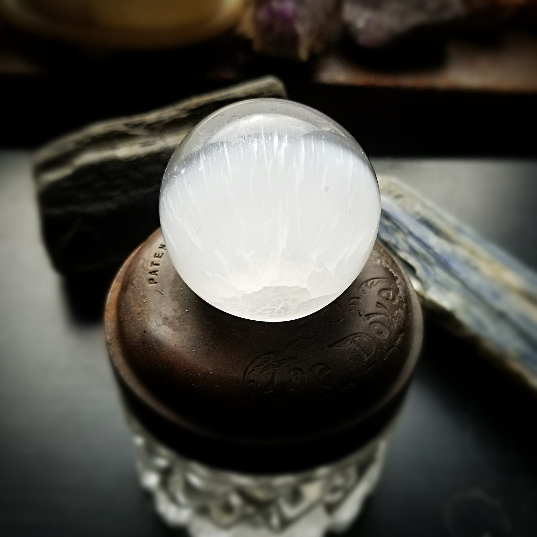 Crystal Ball, Selenite
