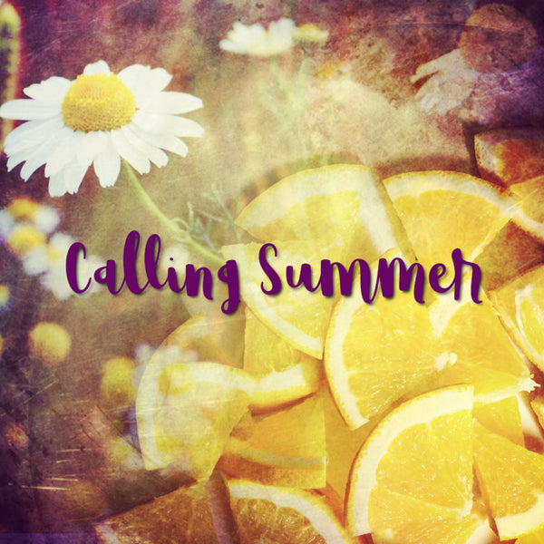 Calling Summer, a lemon creamsicle perfume