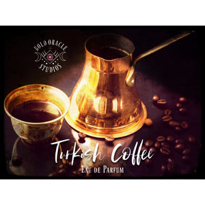 Turkish Coffee, a Cardamom and Coffee Eau de Parfum