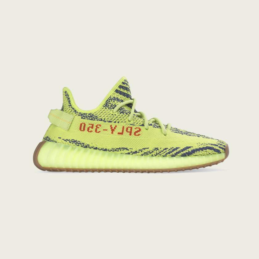 adidas Yeezy Boost 350 V2 Semi Frozen Yellow - World Wide Drip