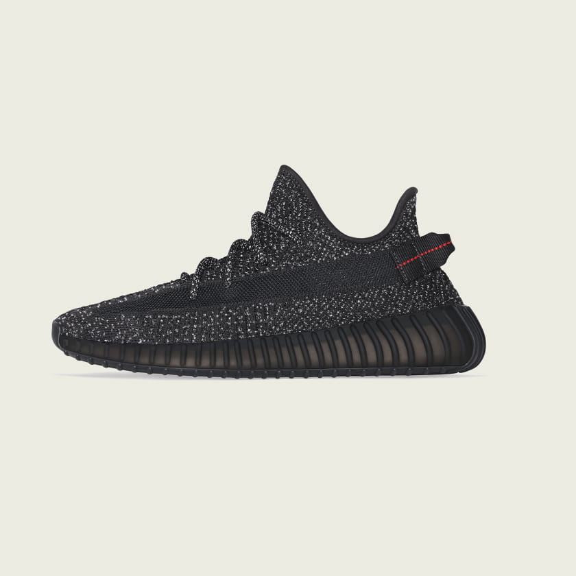 adidas YEEZY Boost 350 V2 Static Black Reflective - World Wide Drip