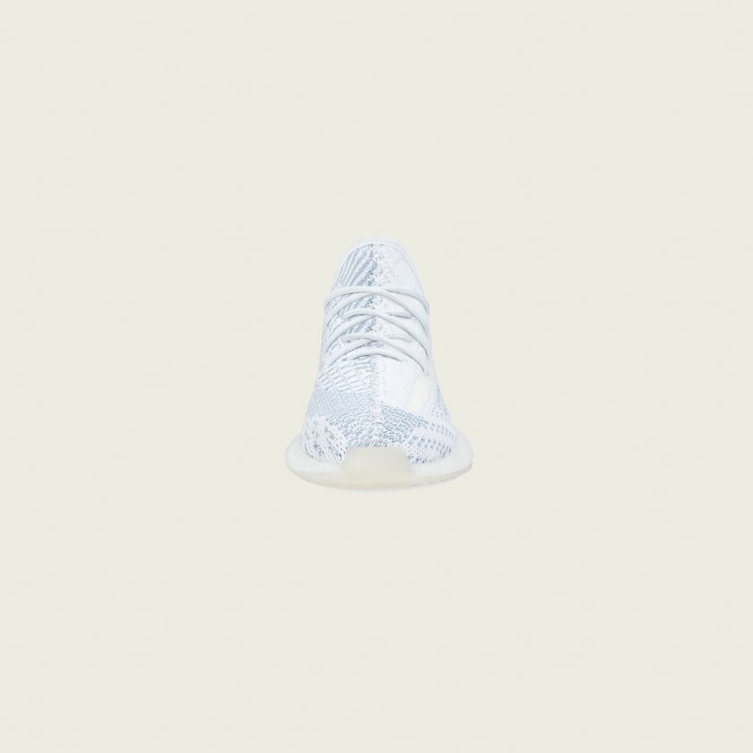 adidas YEEZY Boost 350 V2 Cloud White Non-Reflective Kids