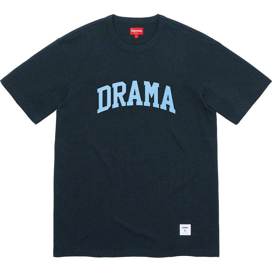Supreme Drama S/S Top Navy