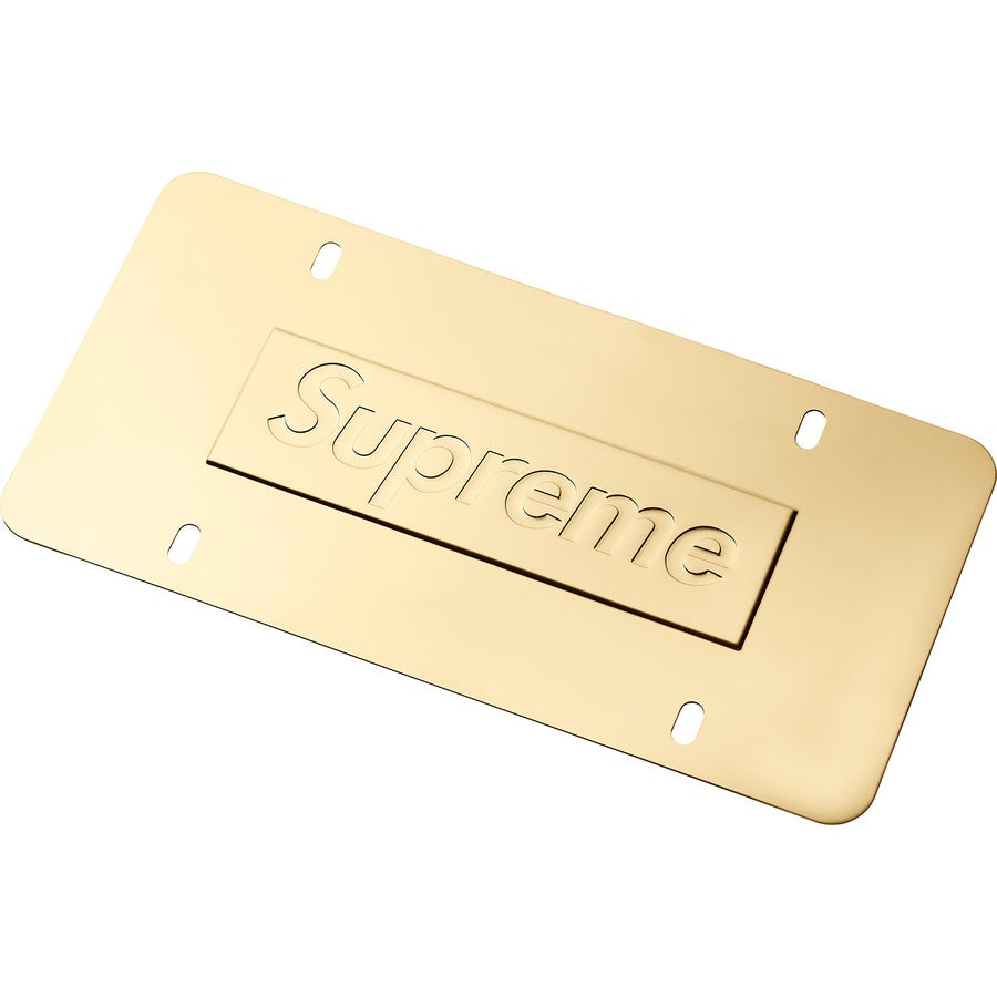Supreme Chain License Plate Frame - World Wide Drip