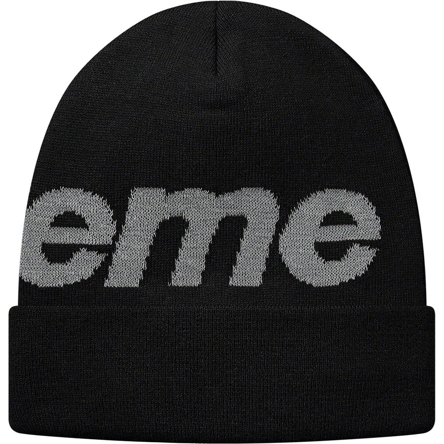 Supreme Big Logo Beanie - World Wide Drip