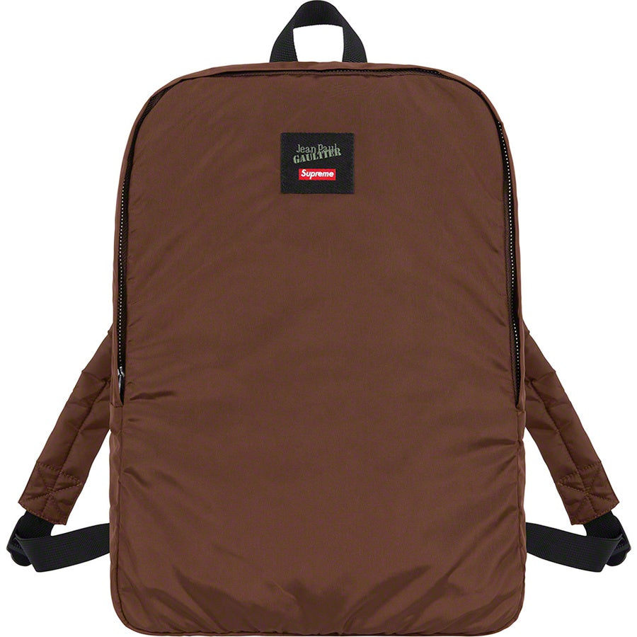 Supreme x Jean Paul Gaultier Reversible Backpack MA-1 Brown - World Wide Drip