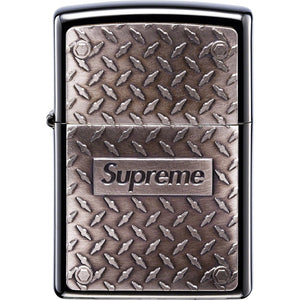 Supreme Diamond Plate Zippo - World Wide Drip