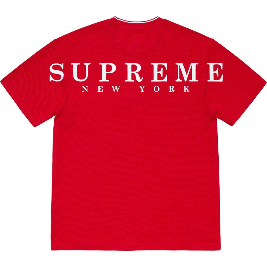 Supreme Stripe Rib Waffle Top - World Wide Drip