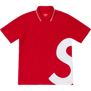 Supreme S Logo Polo - Red - World Wide Drip