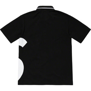 Supreme S Logo Polo - Black - World Wide Drip