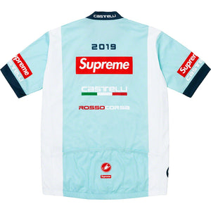 Supreme Castelli Cycling Jersey - Light Blue - World Wide Drip