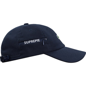 Supreme LACOSTE Pique 6-Panel Navy