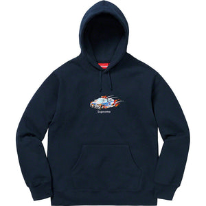 Supreme Cop Car Hooded Sweatshirt Navy