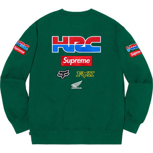 Supreme Honda Fox Racing Crewneck