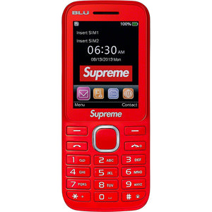 Supreme BLU Burner Phone Red
