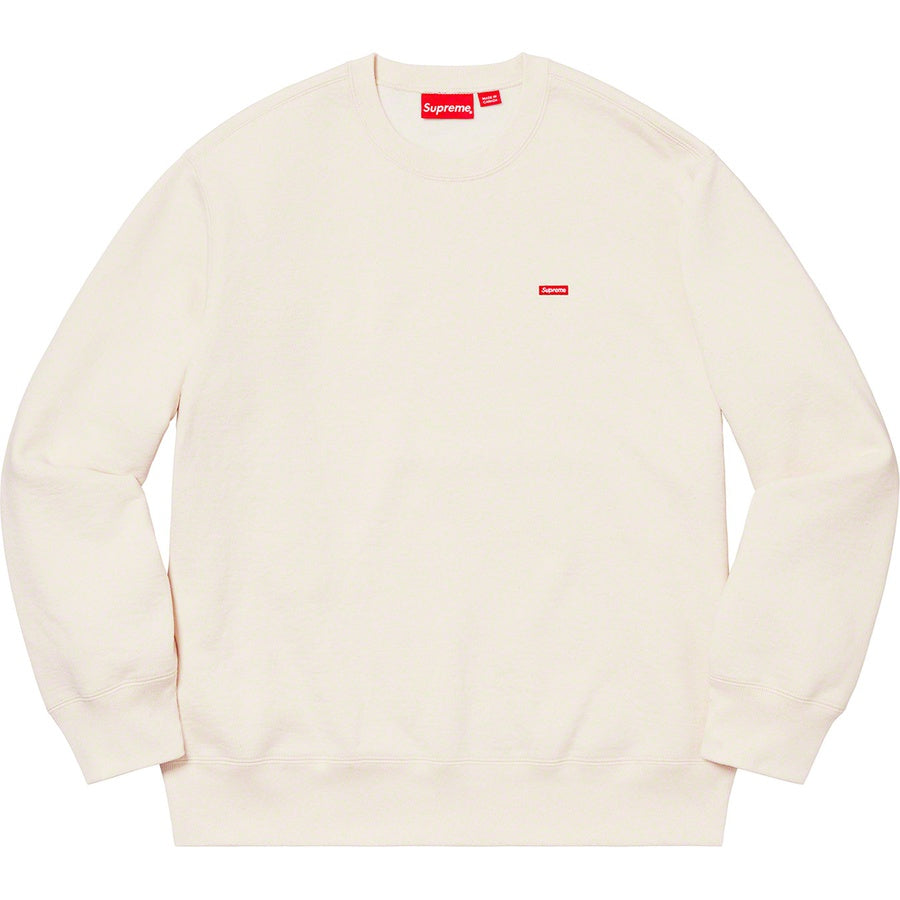 Supreme Small Box Crewneck Natural