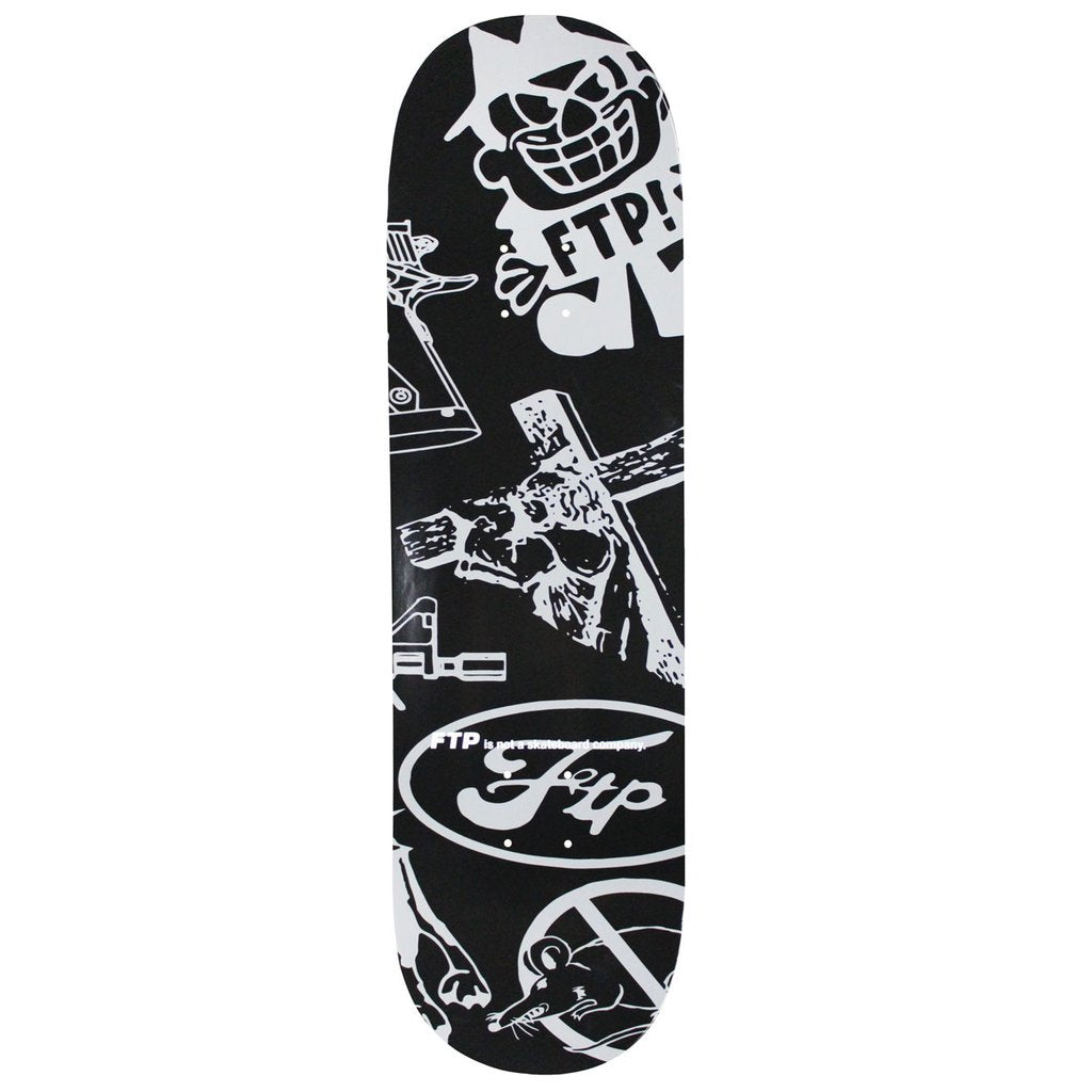 FTP Psycho Skateboard Deck - World Wide Drip