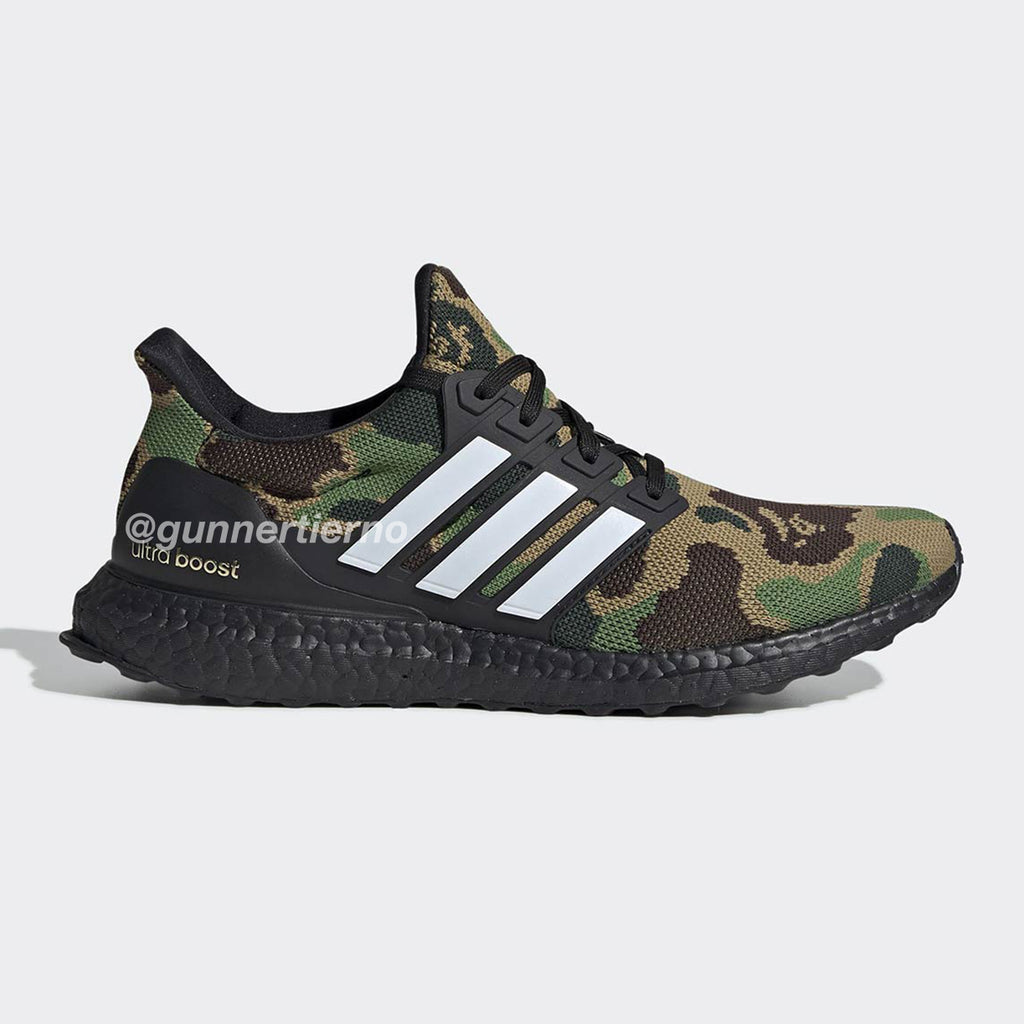 65f361ceca97d Adidas Ultra Boost 4.0 Bape Green Camo – World Wide Drip