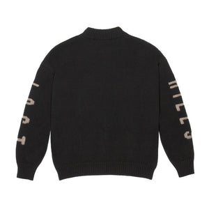 Adidas Yeezy Intarsia Sweater Ink - World Wide Drip