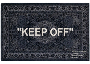 "OFF-White x IKEA Rug ""Keep Off"" - World Wide Drip"