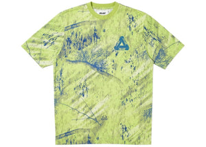 Palace Real Tree Fishing T-Shirt Green - World Wide Drip