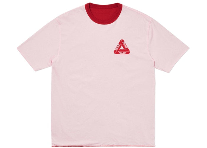 Palace Reverso Tee Red/Pink - World Wide Drip