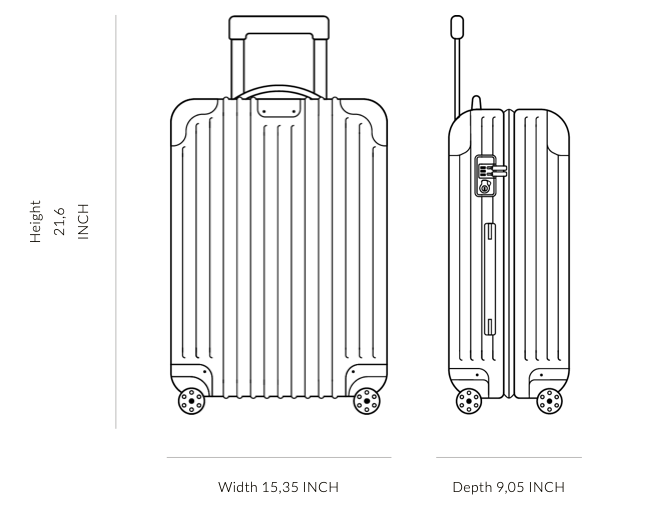 "OFF-WHITE x RIMOWA Luggage Suitcase Transparent ""See Through"" - World Wide Drip"