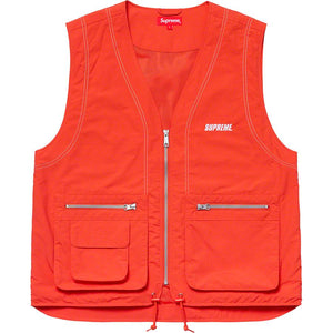 Supreme Nylon Cargo Vest - World Wide Drip
