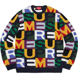 Supreme Big Letters Sweater - World Wide Drip