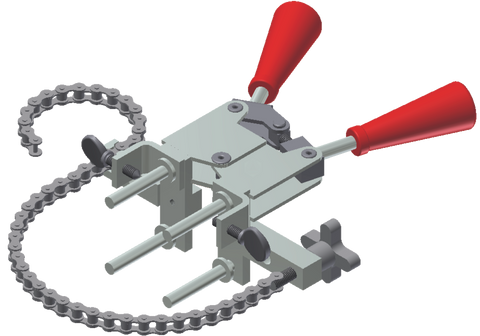 Vertical Chain Clamp Handle