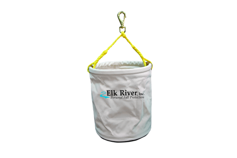 Elk River White Canvas Tool Bucket