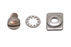"3/8"" Stainless Steel Adapter Hardware - (Kits of 10)"