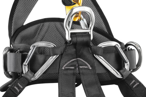 Petzl Avao Bod Croll Fast Full Body Comfortable harness for rope access