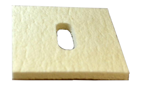 "Ceramic Fiber Packing pad 3/8"" slot"