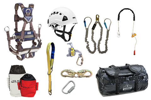 tower climbing harness deluxe exofit harness