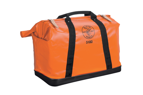 Klein XL Nylon Equipment Bag, Orange