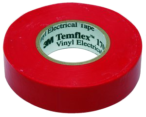 1700 temflex colored electrical tape red