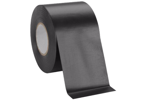 "Black PVC Electrical Tape 2"" x 20'"