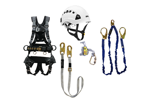 tower climbing kit peregrine harness vertex helmet
