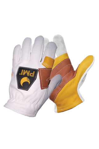 pmi lightweight rappel gloves goatskin dexterity cowhide palm
