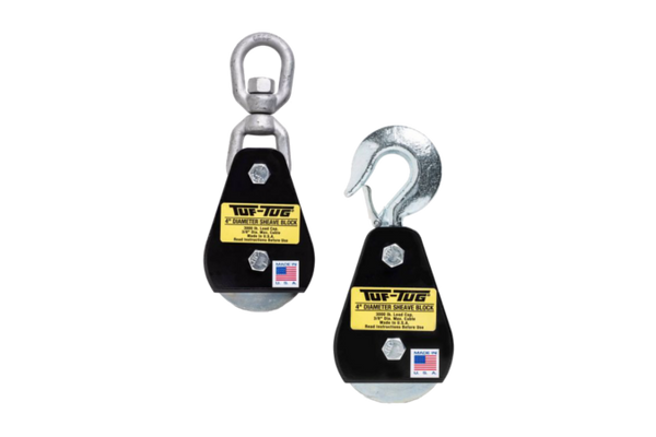 Tuf Tug 4 Quot Wire Rope Blocks Ask Tower Supply