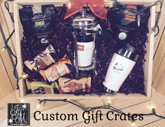Custom Gift Crates for the Holidays